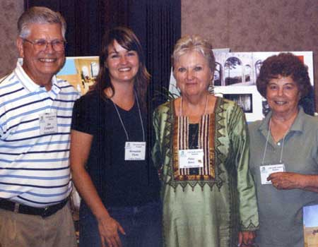 Jim Craigmyle, Bernadette Flynn, Patsy Knox, and Dottie Craigmyle