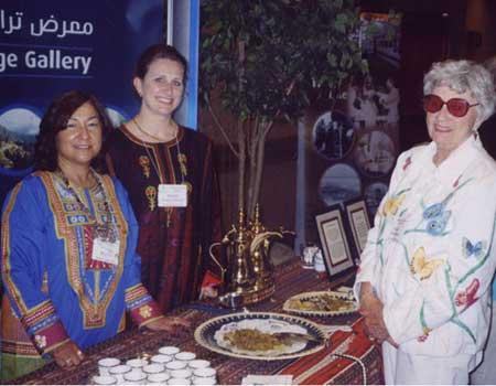 Catarina and Michelle Ali Reza from Heritage Gallery