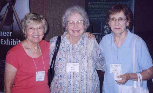 Joan Hemer, Ruth Maise and Chris Hockens