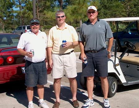 Larry Richard, Dan Kinsey, and Wayne Giles