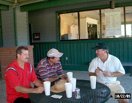 Lee Akers, Ford Femal and Mark Stewart