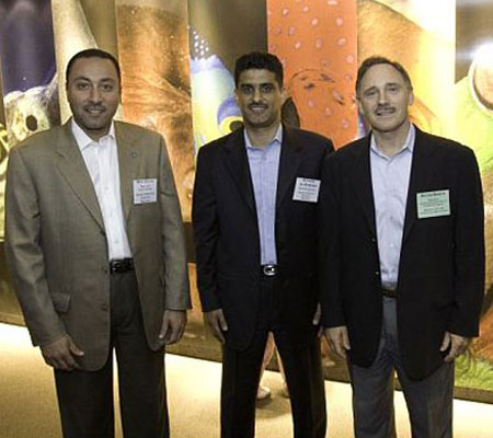 Deya Elyas, Dawood Al-Dawood, David Bosch