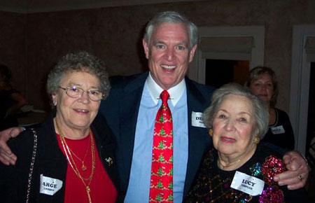 Marge Johansson, Dennis Sanford, & Lucy Templer
