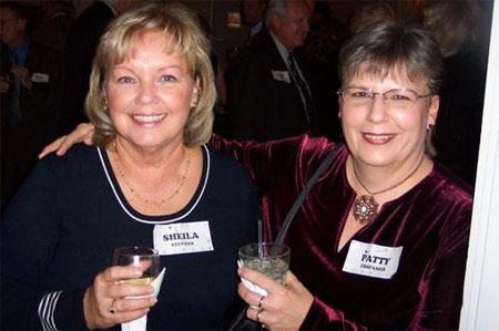 Sheila Stevens and Patty