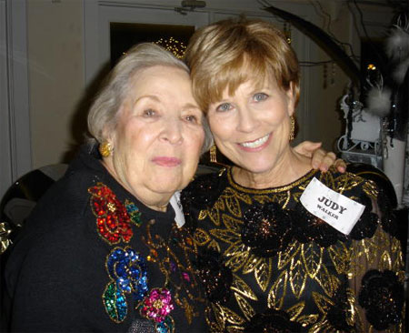 Lucy Templer and Judy Walker