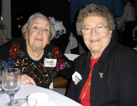 Lucy Templer and Marge Johansson