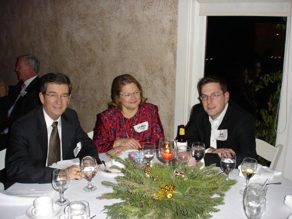 Dan & Lynda Walters and Joe Sanford