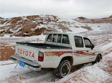 Toyota Stuck in the snow?