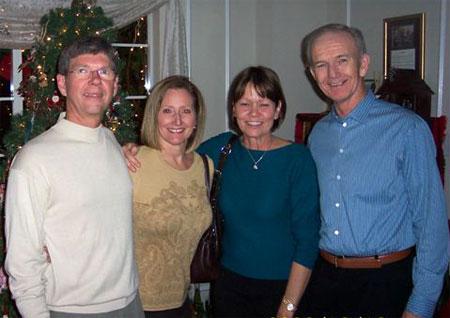 Ted & Carol Holmlund and Jerry & Barbara Wolahan