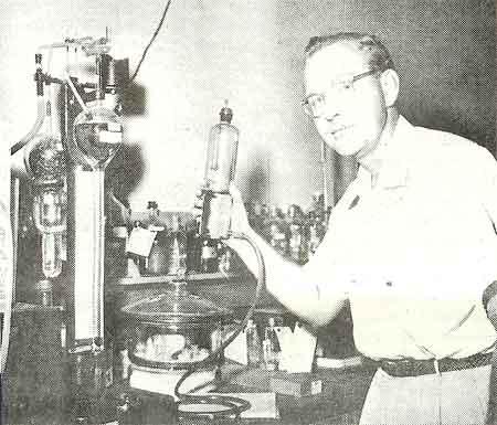 G.A. Kearney, Fractionation Chemist