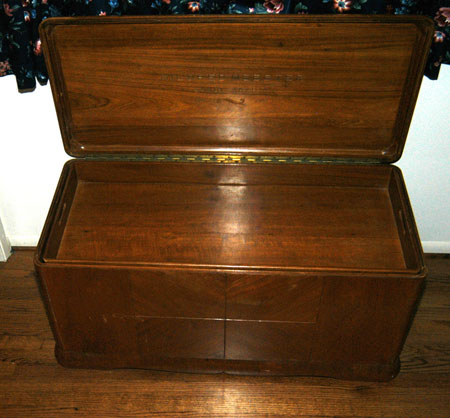 Arab Blanket Chest
