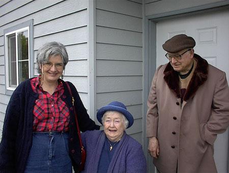 Mary Helene, Joey, and Pete