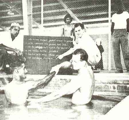 Teaching Swimming and Life Saving