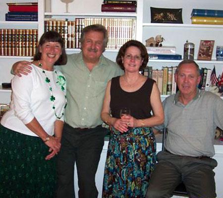 Karen Hansen, Alan Zirgulis, Sarah & Charlie Hancock