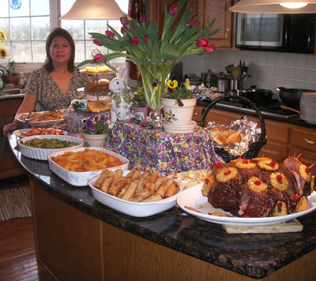 Huynhs Easter Feast