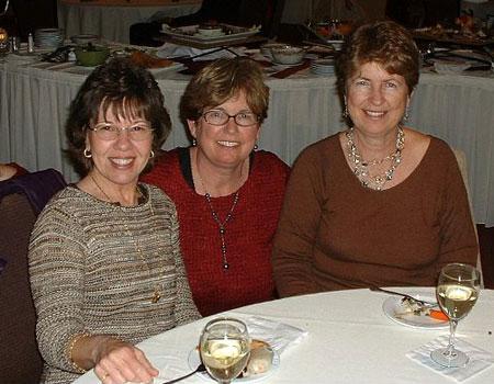 Polly, Sharon, and Betsy