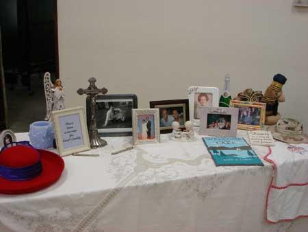 Mementos of Carol's Life