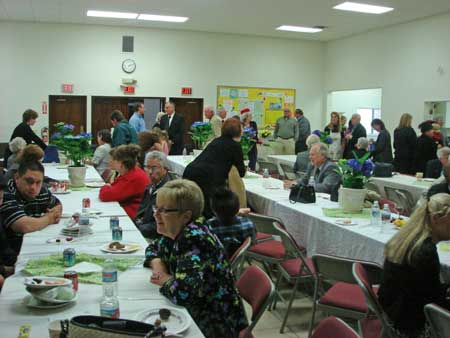 Reception and Luncheon