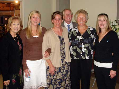 Judy Walker with Oberle Family