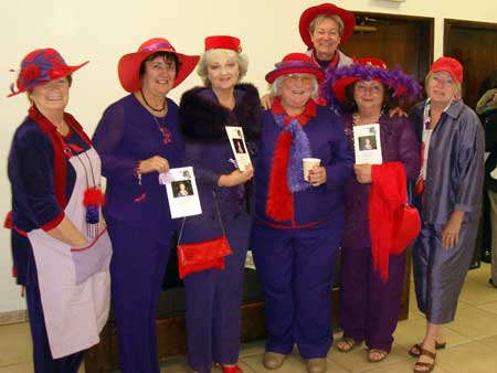 Red Hat Ladies from Lake Arrowhead