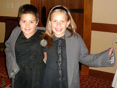 Katlyn and Kayley (Carol's granddaughters)