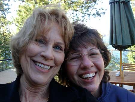Judy Walker and Polly Robinson