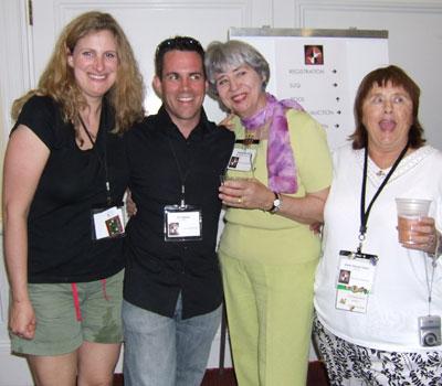 Caroline Homolka Masters, Tim Nielsen, Brenda Tirrell and Karen Fallon