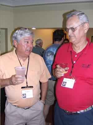 Bob Raposo and Eugene Colgan