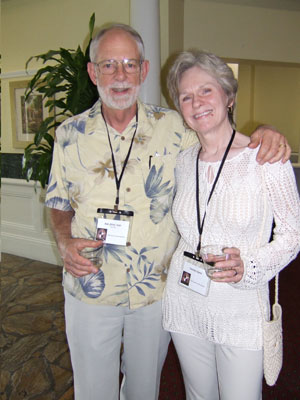 Bob (Kim) Carr and Carolyn Davis