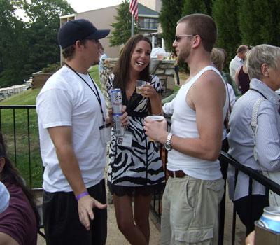 Joe Camp, Annie Cobetto, and Chris Martin