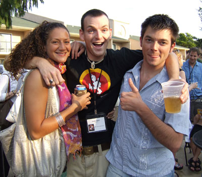 Liz Wagner, David Elliott, and Matt Thompson