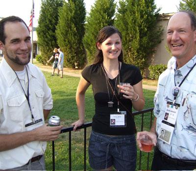 Troy, Kristina Aberle, and David Jessich