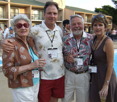 Rose Mowbray, John F. Mowbray, Mr. Mowbray, and Karen Morrow