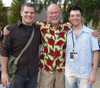 Angus Perkerson, Jim Perkerson, and Matt Thompson