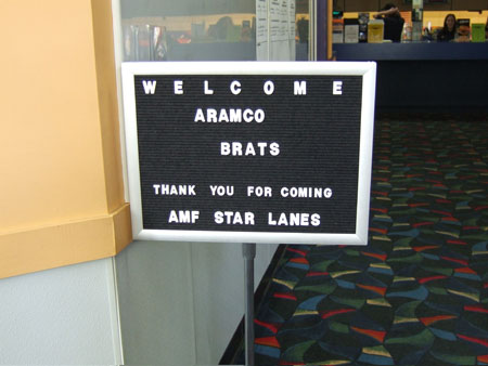 Welcome Aramco Brats