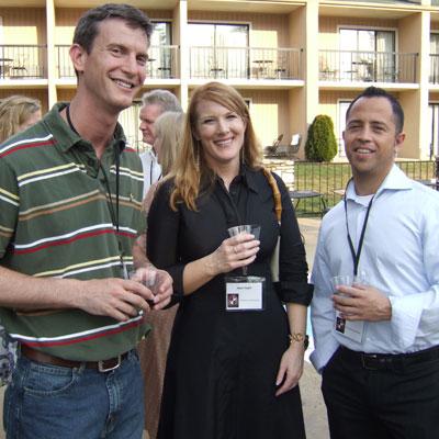 Rusty Swayne, Heidi Pollert, and Ralph Baca