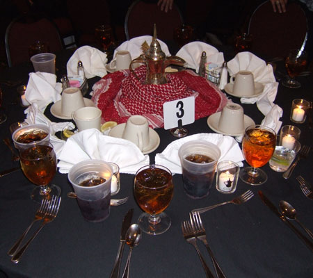 Banquet Table Layout