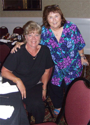 Diana Wilson Fenlon and Karen Fallon