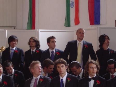 Handsome Graduates