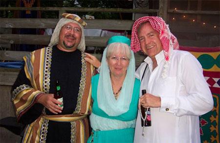 Dave Hinz, Karen Hinz, Ray Stevens