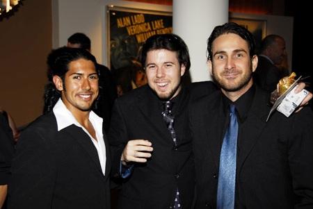 Actor Gabe Al-Raihi, Director Todd Nims, and writer Nathan