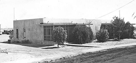 Company Housing in 1946 - Dhahran