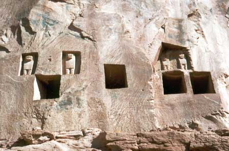 Lion Tombs