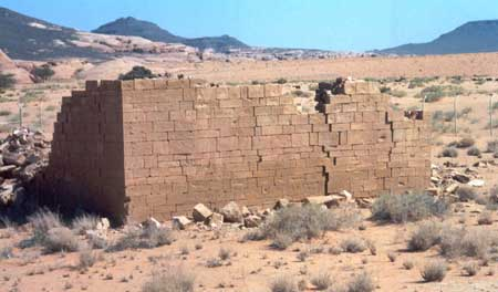 Close-Up of Nabatean/Roman Temple