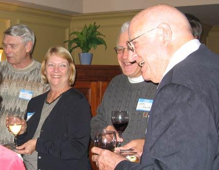 Jack Piper, Judy Fox, Larry Ganje and Pete Davidson