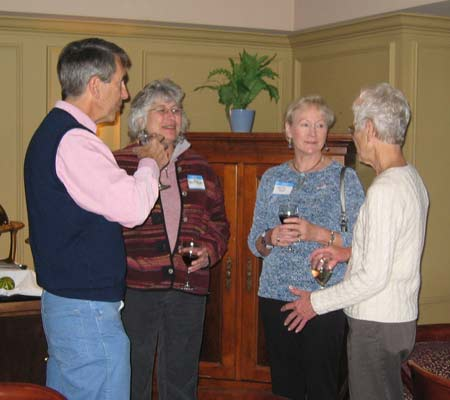 Dave Scott, Andie McAlister, Christel Scott and Gayl McAlister