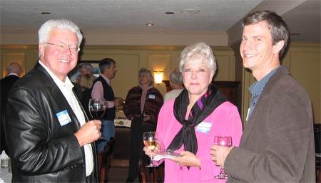 Paul Thomas, Paulette Beckher Thomas and Rusty Swayne