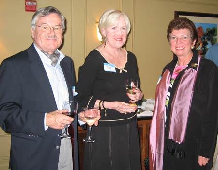 Gunter Kaldschmidt, Marlowe Piper and Trudi Kaldschmidt