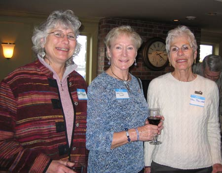 Andie McAlister, Christel Scott and Gayl McAlister