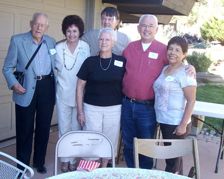 Al Christman, Jackie Quarterson, Gene Quarterson, Martha Thorman, Phil Thorman, Gladys Turissini